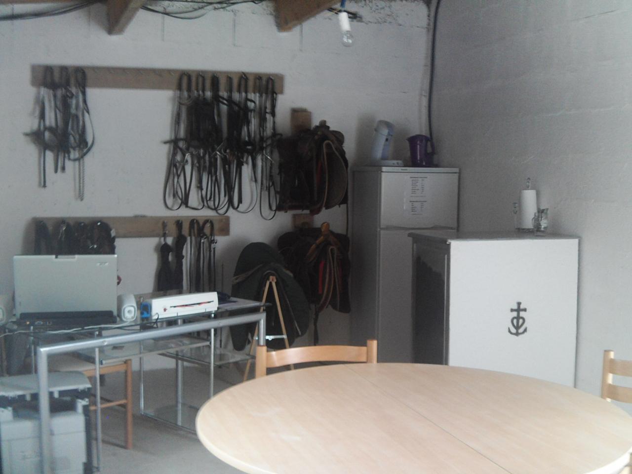 bureau d'accueil des écuries de loudjil
